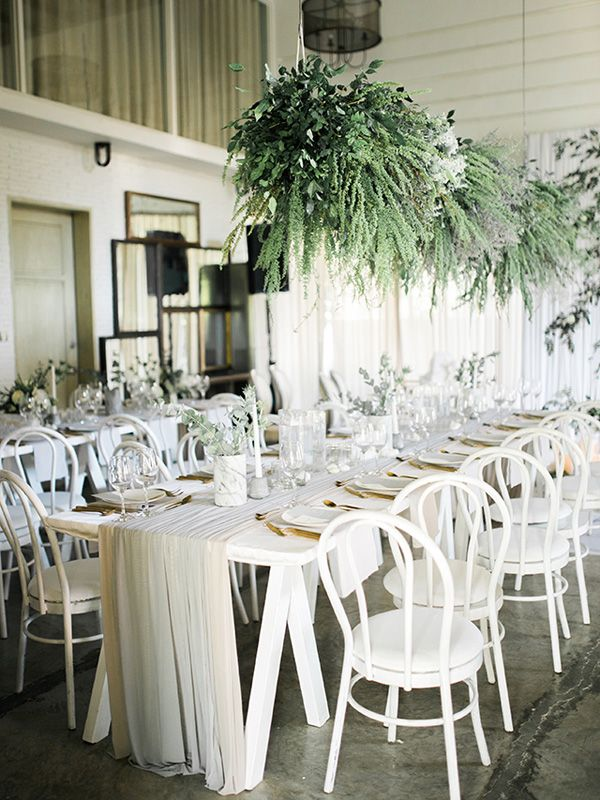 best wedding reception halls in nyc%0A A Modern Botanical Wedding with a Soft Color Palette