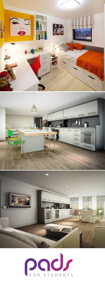 London Student Flat @Pads For Students #Students #londonflats #student #london #flats
