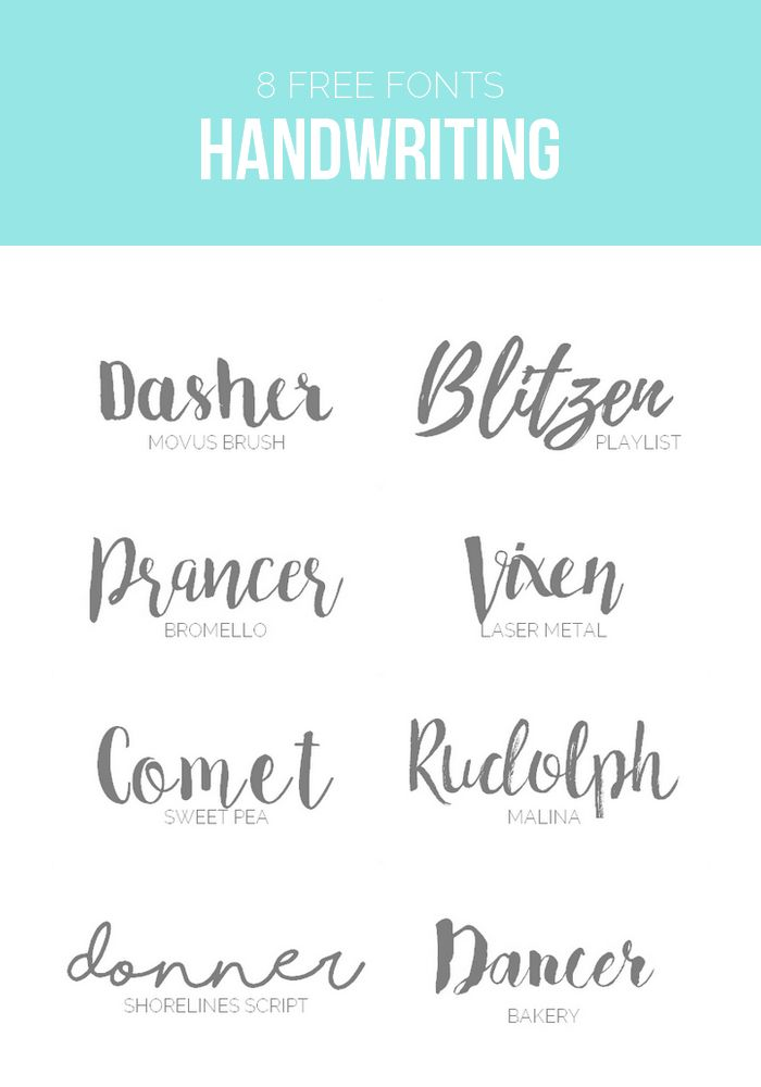Einige schöne kostenlose Schriftarten für jeden Geschmack. Eine Auswahl an schönen Brush und Script Fonts für Projekte online und offline.