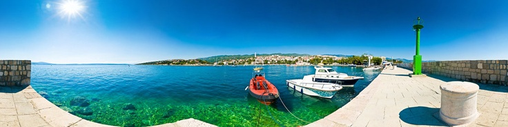 "Novi Vinodolski is a town on the Adriatic in Croatia, located south of Crikvenica, Selce and Bribir and north of Senj.In the central part of Northern Hrvatsko Primorje, at Vinodol Riviera, from the ancient fortress Frankopan called Novigrad, tourist city of Novi Vinodolski settled in and spread out by the sea coast. Novi Vinodolski, historically established as a political and cultural center of Vinodol Principality (""Vinodol"" - ."