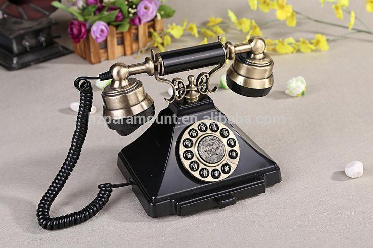 Een oude telefoon (als decoratie)