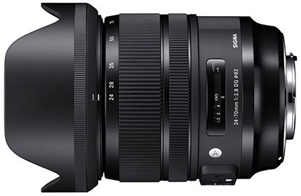 Features | 24-70mm F2.8 DG OS HSM | Art | Products | Lenses | SIGMA GLOBAL VISION