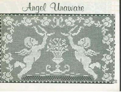 vintage filet crochet - Google Search