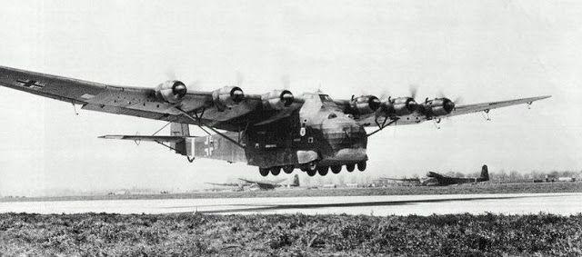 aerosngcanela: Colosso Air Messerschmitt Me 323 Gigante