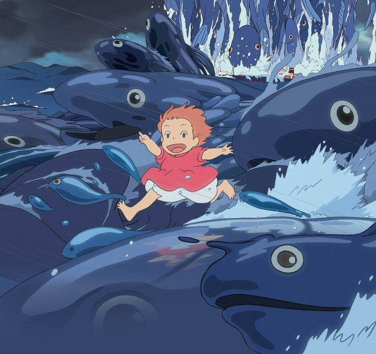 Ponyo (Studio Ghibli's Ponyo) such a good movie!