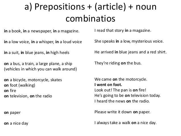 Forum   ________ Learn English   Fluent LandCommon Collocations (Preposition + Noun)   Fluent Land