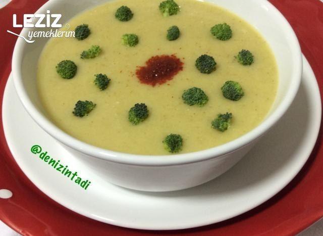 Leziz Brokoli Corbasi Leziz Yemeklerim Yemek Tarifi Yemek Leziz Yemek Brokoli