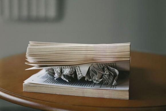 Still life books Eileen Cowin