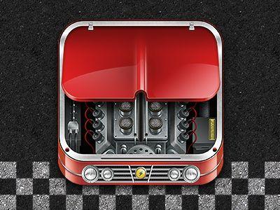 Car Engine App Icon