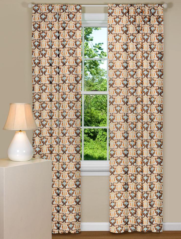 Best 25+ Retro curtains ideas on Pinterest | Living room 60s ...