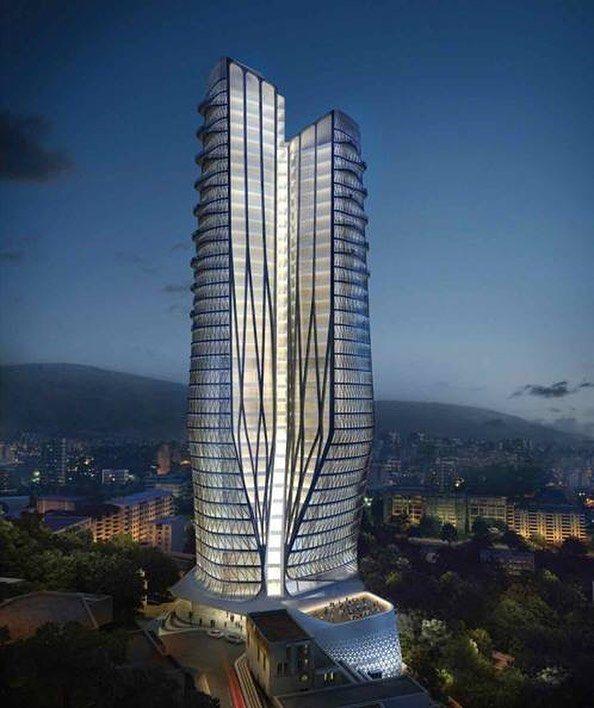 "1,304 Me gusta, 4 comentarios - Amazing Skyscraper (@amazingskyscraper) en Instagram: ""Fereshteh Pasargad Hotel / Zaha Hadid Architects  #Tehran  #Iran  www.amazingarchitecture.com ✔️…"""