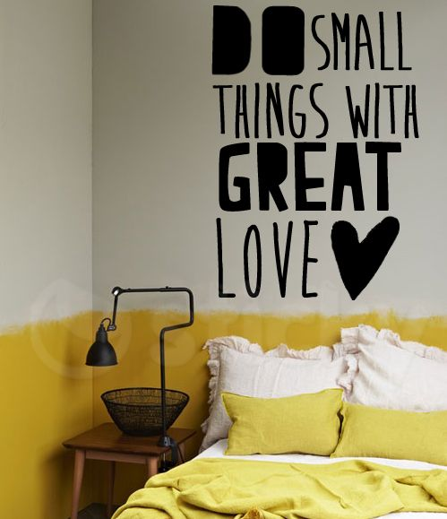 Wall Sticker GREAT LOVE by Sticky!!!