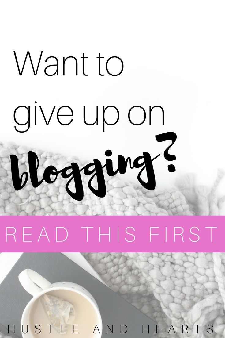 If you've ever want to give up on blogging, or you've hit a creative roadblock in some other dream chasing journey, this is the post you need to read. Blogging is tough work, and sometimes all we need is a little motivation to get us working again | blogging advice | how to dream big | how to overcome a creative roadblock | what to do when you want to give up