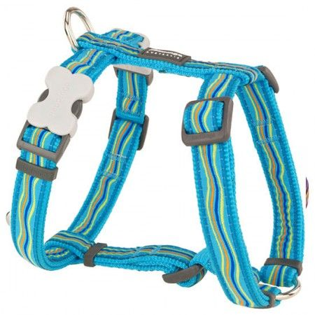 Red Dingo Dreamstream Turquoise Medium Dog Harness - Red Dingo dog harness Red Dingo dog harness Medium - globaldogshop.com