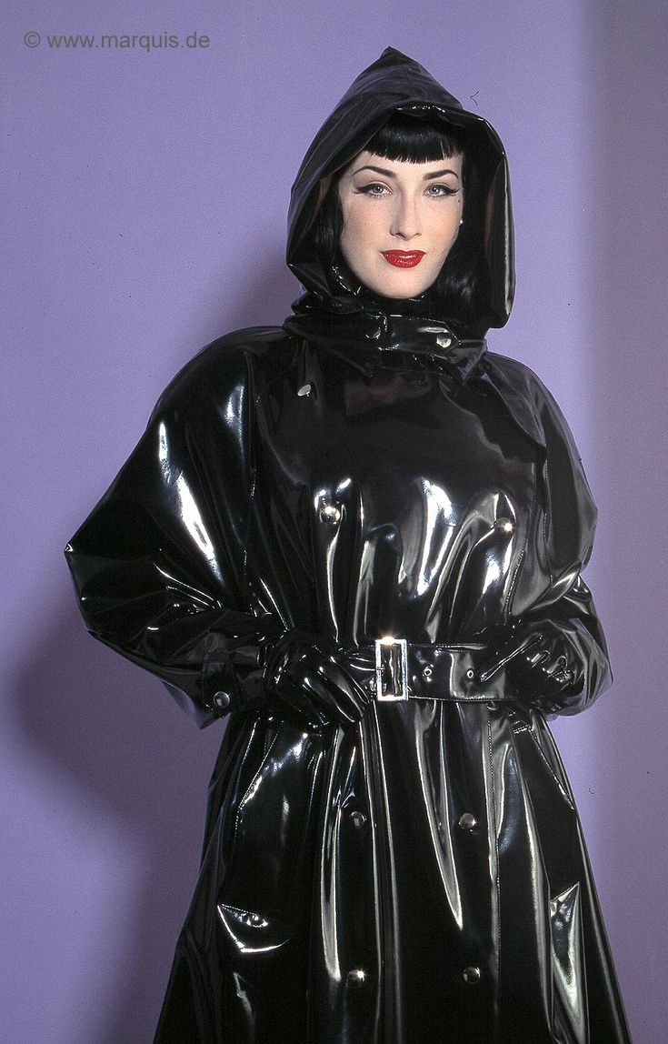 This Fetish vinyl raincoat