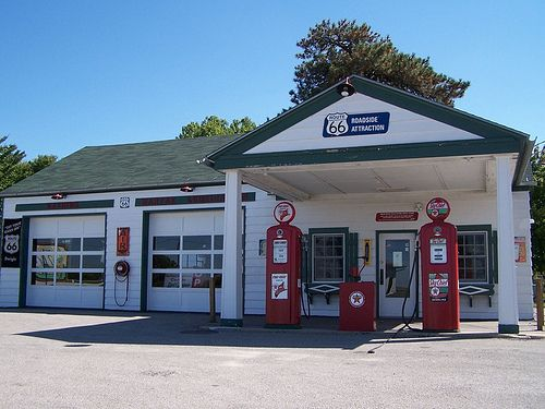 Image result for gas stations old