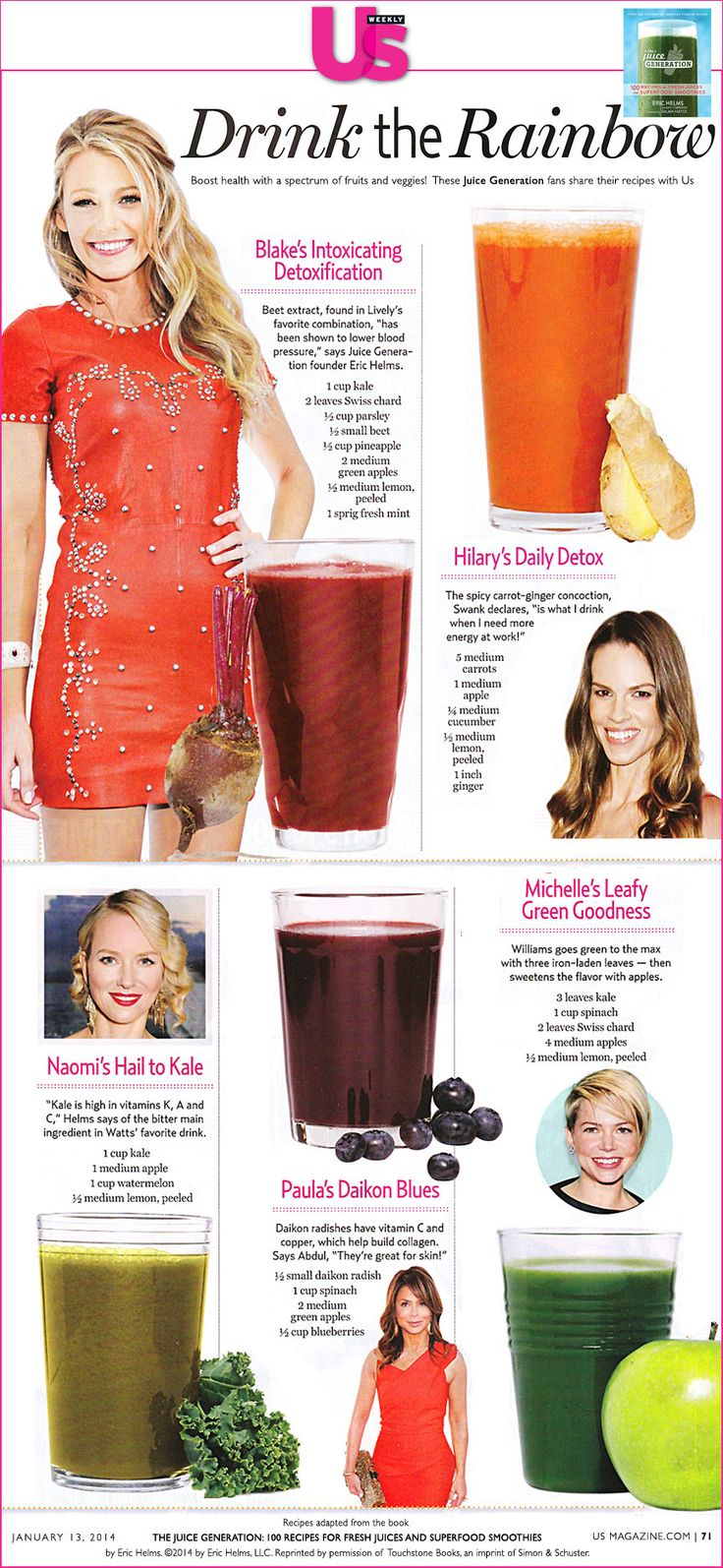 Celebs share their fave detox juice recipes                                                                                                                                                                                 More