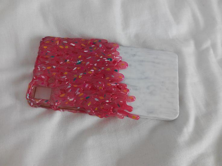 carcasa celular helado