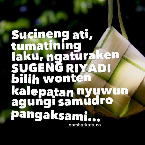Ucapan Hari Raya Idul Fitri Bahasa Jawa