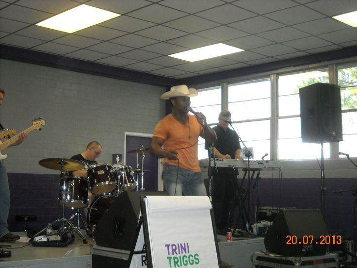 Trini Triggs; 34th Annual Natchitoches-NSU Folk Festival; 2013