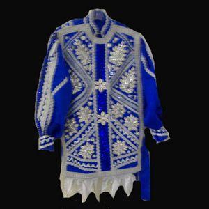 trajes de santo | ... de algodon con un romboide en el estomago alrededor de su cintura