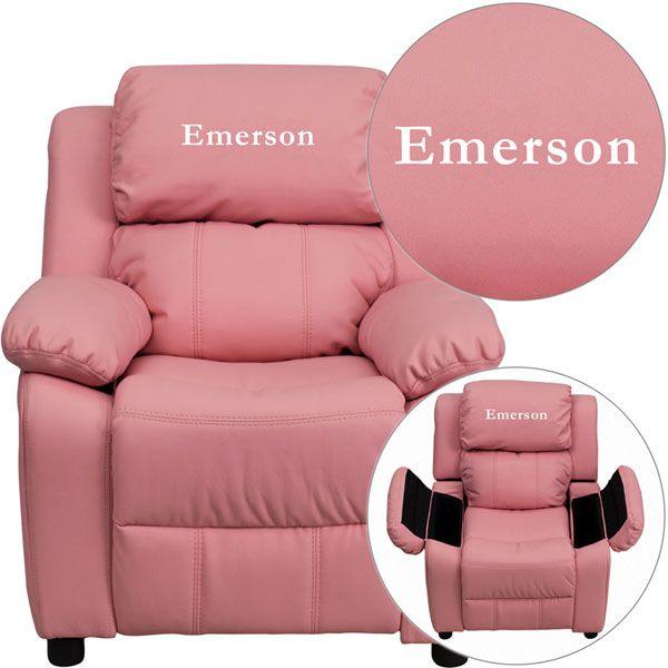 Emerson pink kids recliner. The creme de la creme of recliners! - 10 Best Images About Kids Recliners On Pinterest
