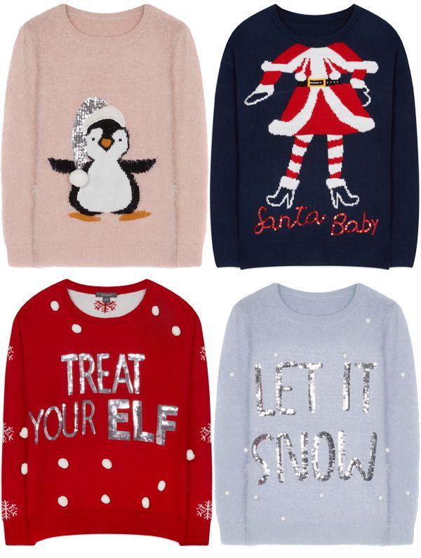 Brilhos da Moda: Camisolas de Natal