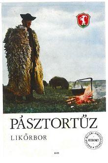 Vintage Hungarian Liquor Label, Magyar Állami Pincegazdaság