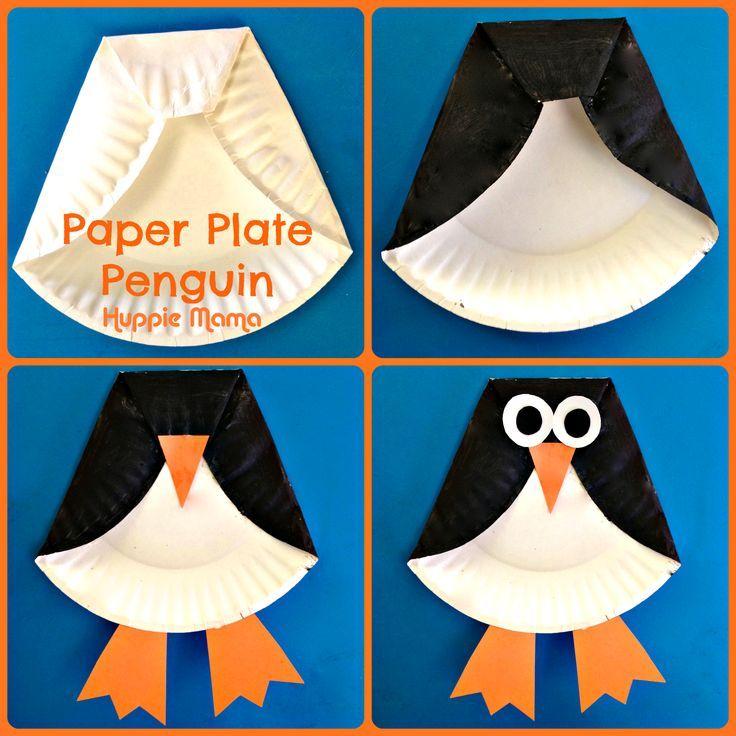 Hoe eenvoudig kan het zijn om een pinguïn te maken?