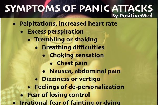 Panic Attacks Symptoms and TreatmentsPositiveMed | Positive Vibrations in Health