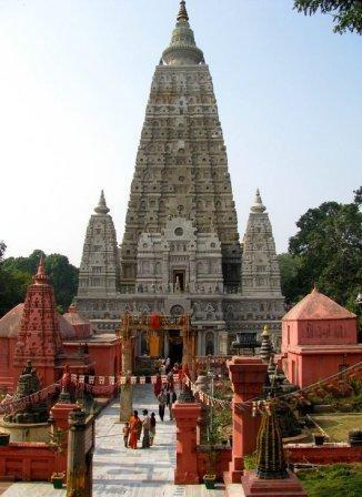 Where Buddha and Siddhartha gained enlightenment, Bodhgaya, India