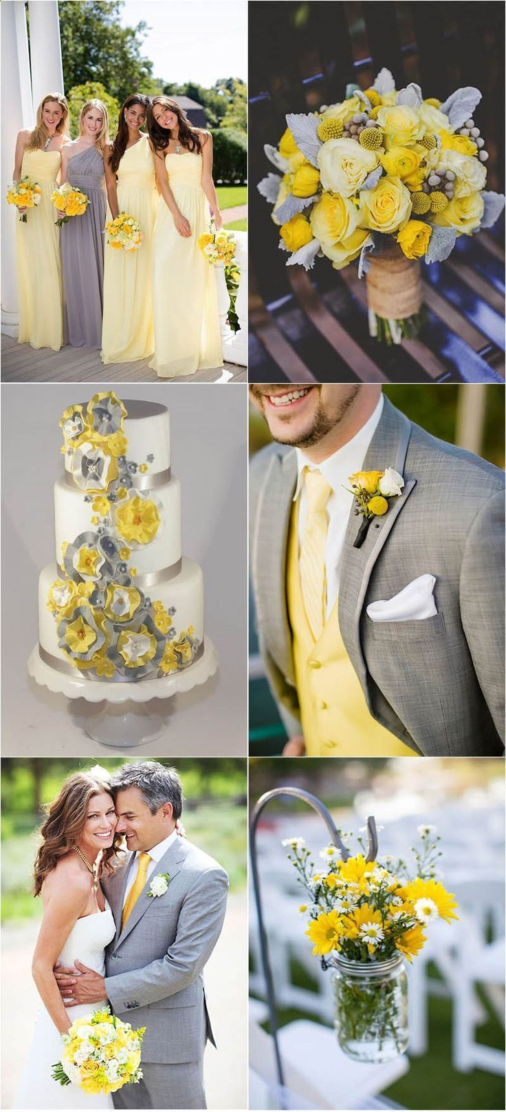 Timeless Grey Wedding Color Palette Ideas To Inspire Yellow