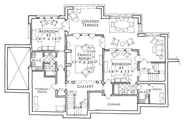 1000 images about retirement house plans on pinterest 3 for Retirement house plans