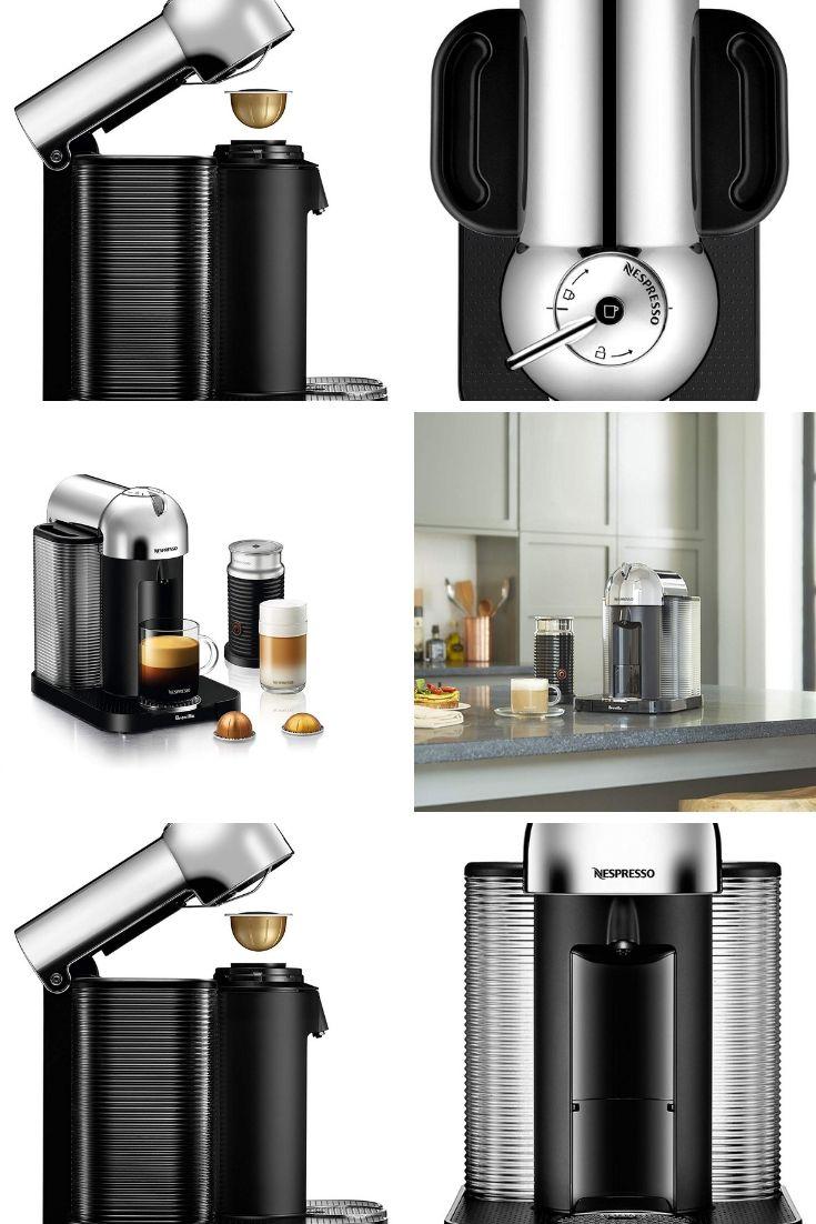Nespresso Vertuo Coffee And Espresso Machine Bundle With Aeroccino