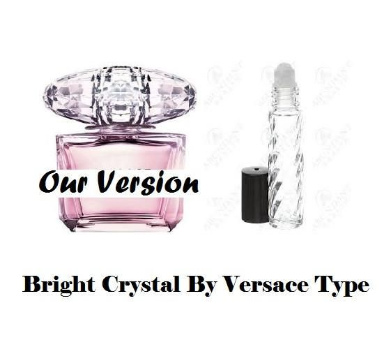 Bright Crystal By Versace Type Premium Womens Fragrance Perfume Oil