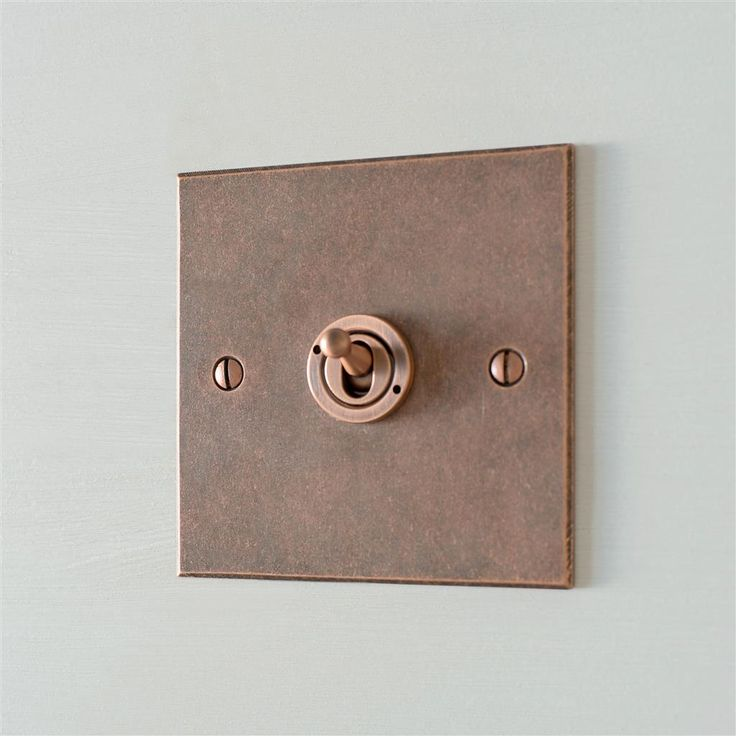 Our beautiful handmade Dolly #Switch is now available in our stunning #Heritage #Copper finish.
