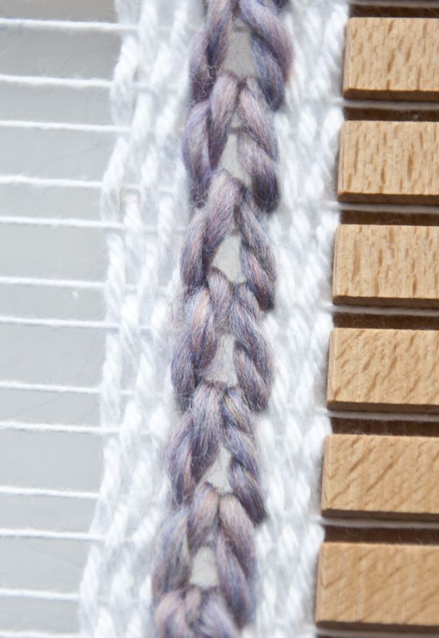 Soumak Chain Weave | The Weaving Loom #weaving #tutorial