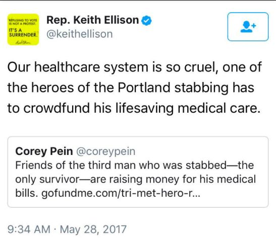 Rep. Keith Ellison, DNC Vice Chair, Forgets Whose Healthcare Plan Is Still In Place… | Weasel Zippers