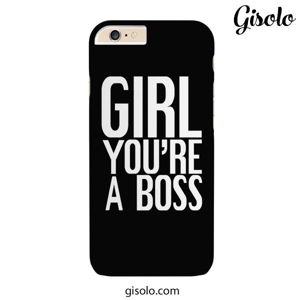 #Girl you're a #boss - Available for Iphone 6plus/6, Iphone 5/5s/5c, Iphone 4/4s, Ipad 2/3/4, Ipad mini, Galaxy S5, Galaxy S4,Galaxy S3, Galaxy Note 3