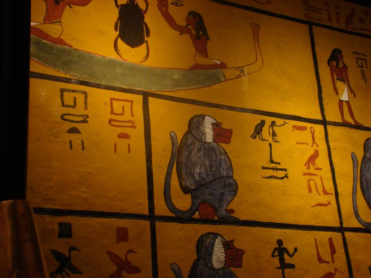Details from the tomb of Tutankhamun!