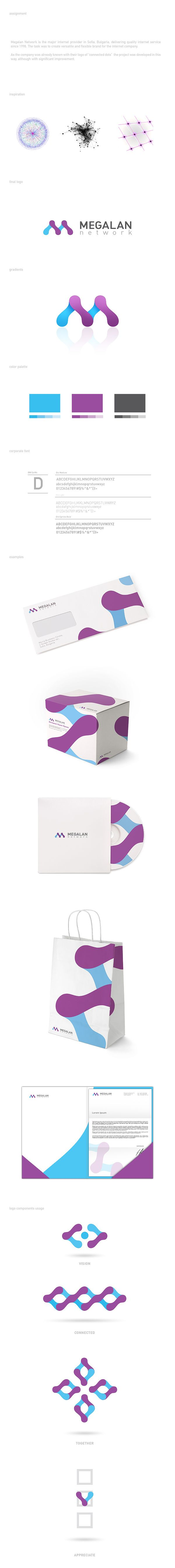 Megalan Network - internet provider - versatile & flexible brand.