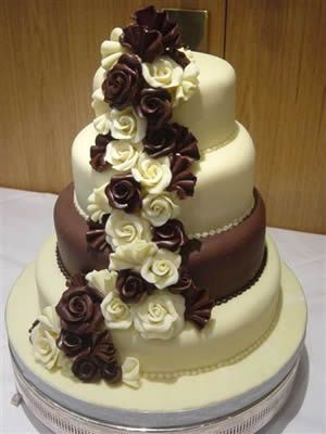 #Chocolate Wedding Cakes Thanks again for viewing...feel free to Pin, Like, or Comment!