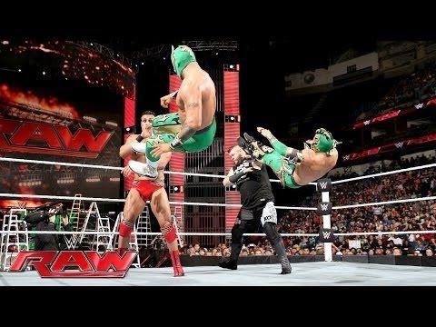 Wrestling Revolution 3D: Alberto Del Rio & Kevin Owens vs. Lucha Dragons (WWE Raw June 13, 2016)