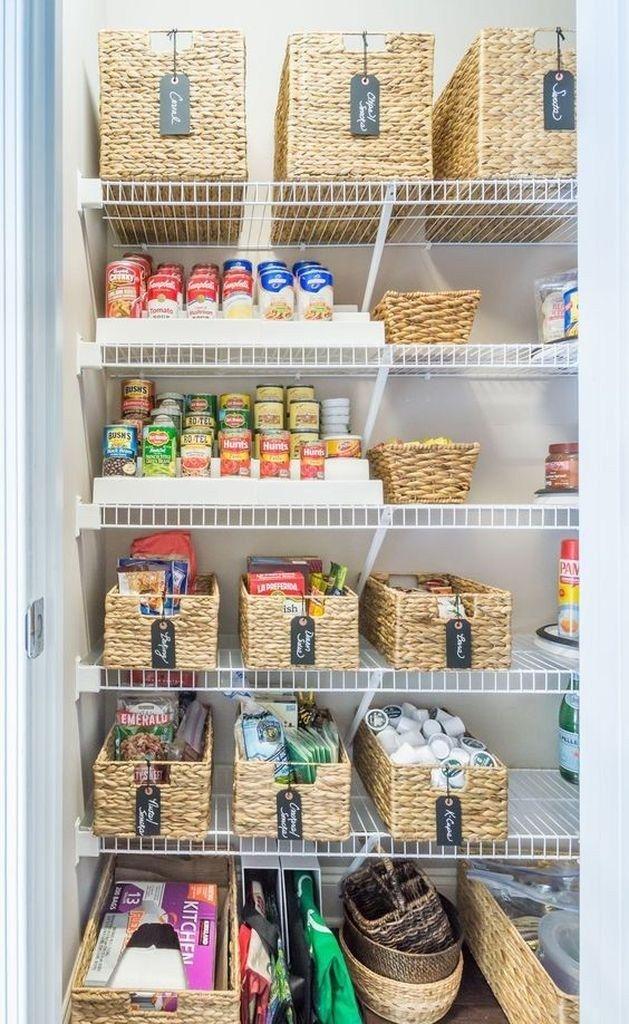 25 Best Pantry Organization Ideas We Found On Pinterest Godiygo Com Kitchen Organization Small Kitchen Organization Kitchen Organization Diy