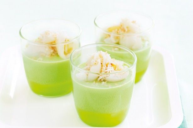 It's easy to imagine yourself on a tropical island when you taste these coconut treats.