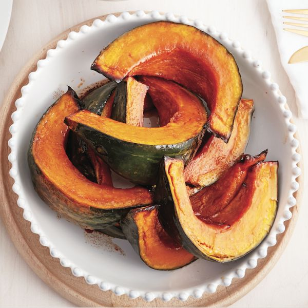 Butternut squash gets all the glory in the fall. This year, add some new varieties to the mix, starting with our roasted kabocha squash!