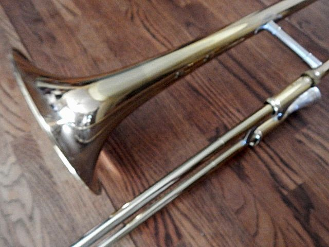 Trombone Yamaha M1-YSL354 Teachers #1 Choice Yellow Brass Band Jazz or Marching Student Musical Instrument Vintage 1985 Made in Japan