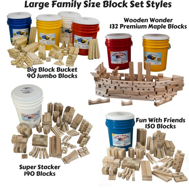Considering a set of wooden blocks to put under your Christmas tree? Find 3 reason why you should get a large block set. Wooden blocks are a great classic, creative, educational toy. They are the best when you have lots! You can't find large sets like this in any store. Read more about the benefits of a large set of wooden blocks http://backtoblocks.com/block-sets/large-family-size-block-sets.html