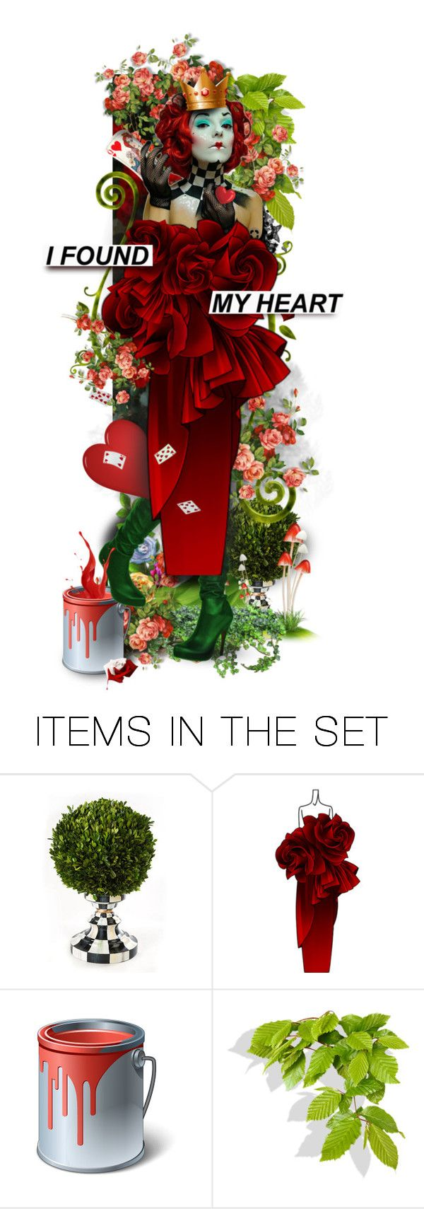 """""""Queen of Hearts - TAS February 15, 2018"""" by fm3happy ❤ liked on Polyvore featuring art"""