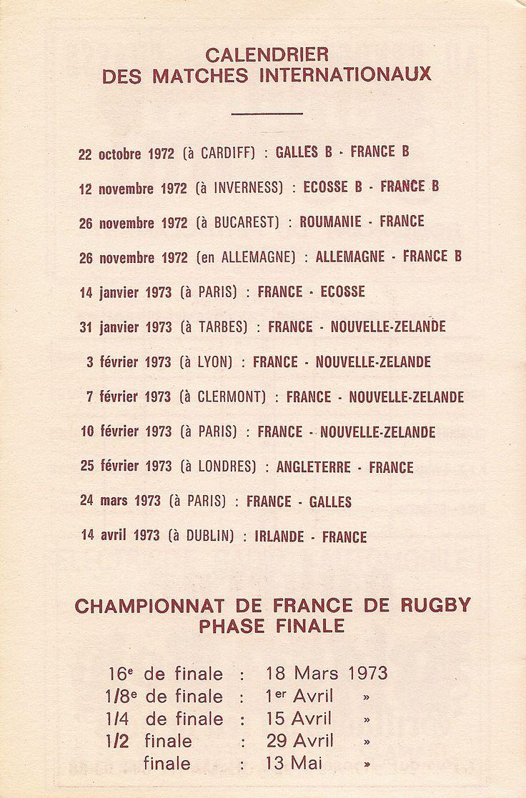 Calendrier 1972-1973 - 2ème Division - Page 22